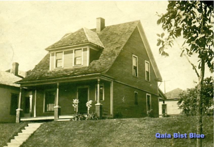 14 N. Valley - KCK - 1908 - Alfin Backlund photo