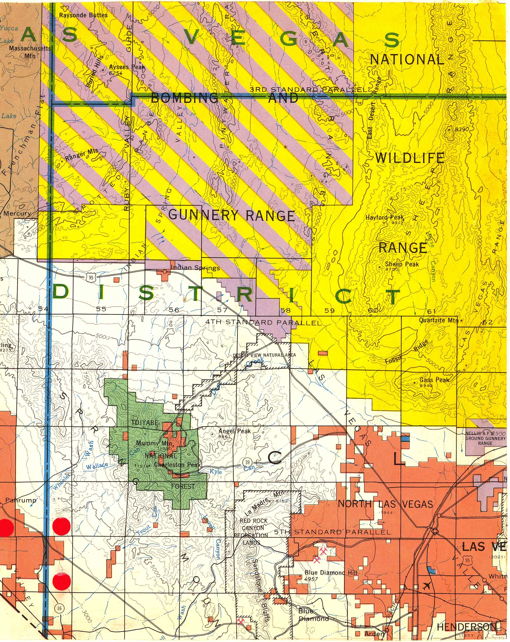 Map [2] 36:115 - Las Vegas - 1972
