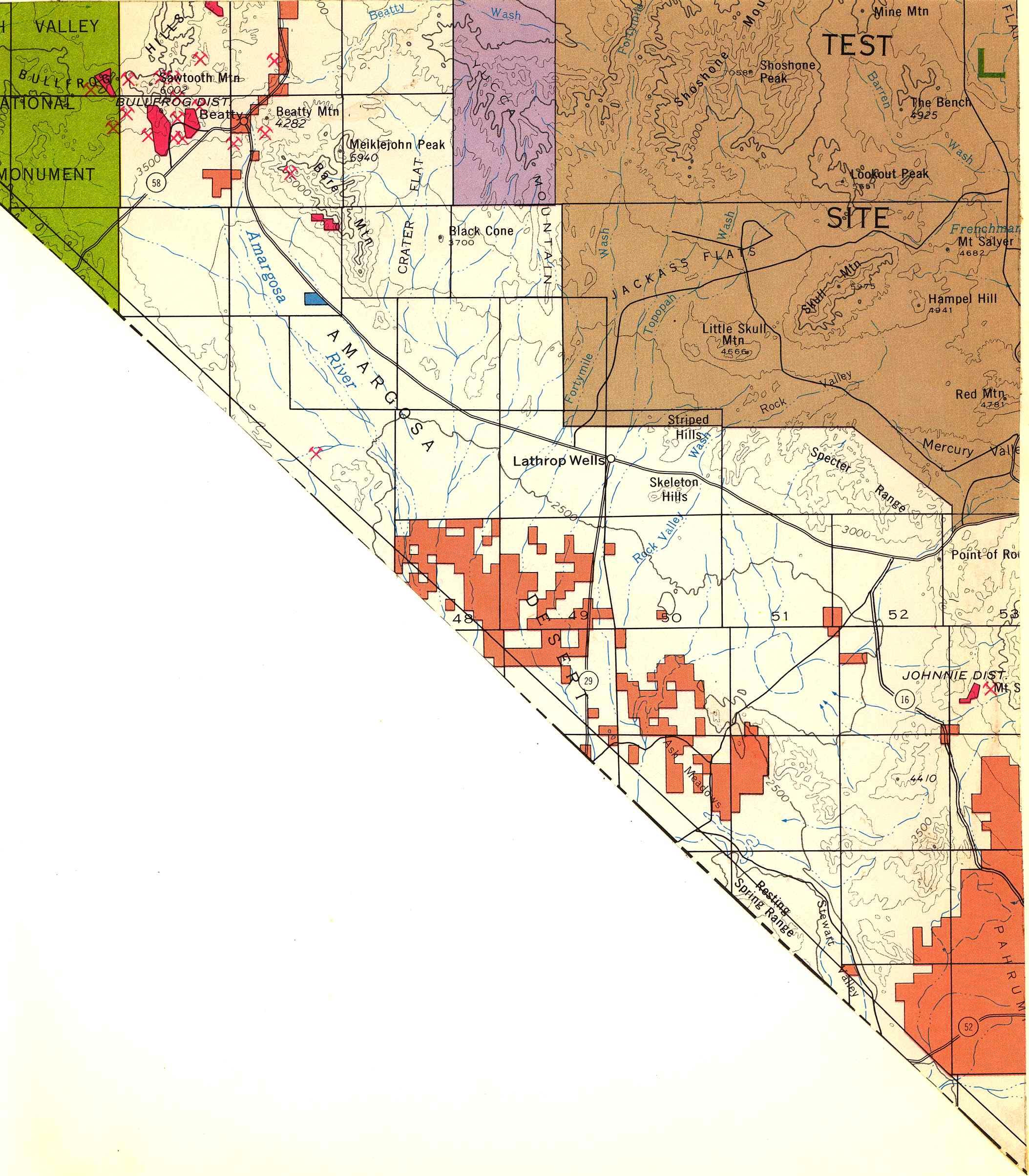 Map [2] 36:116 - Beatty - 1972