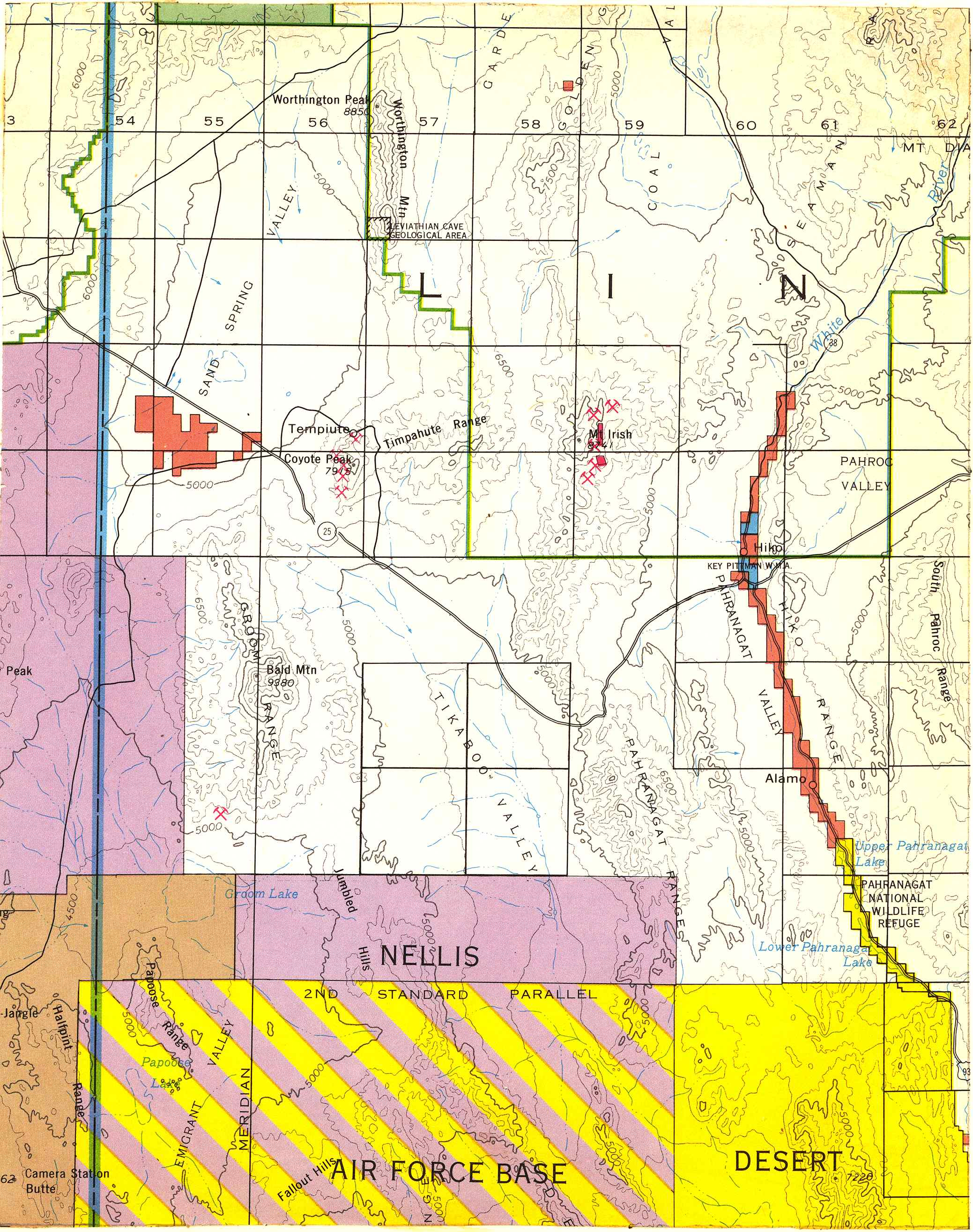 Map [2] 37:115 - Crystal Springs - 1972