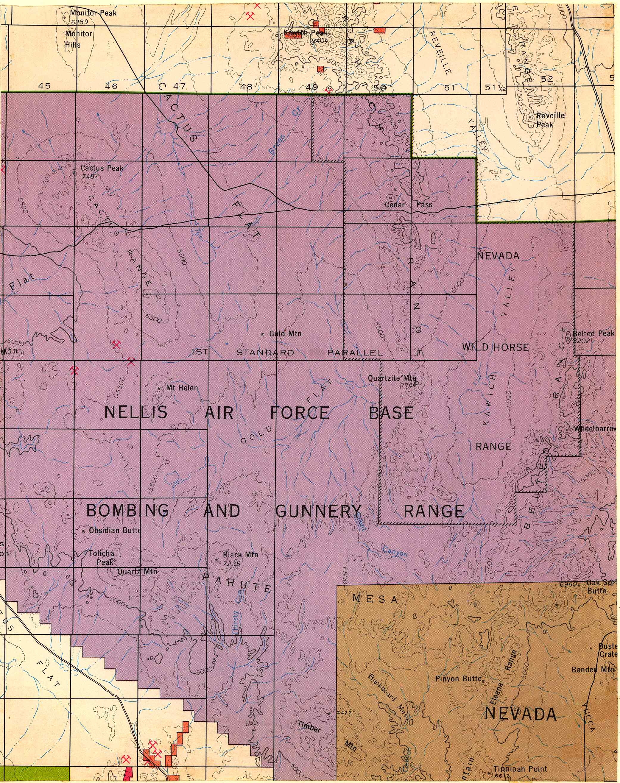 Map [2] 37:116 - Yucca Flat - 1972