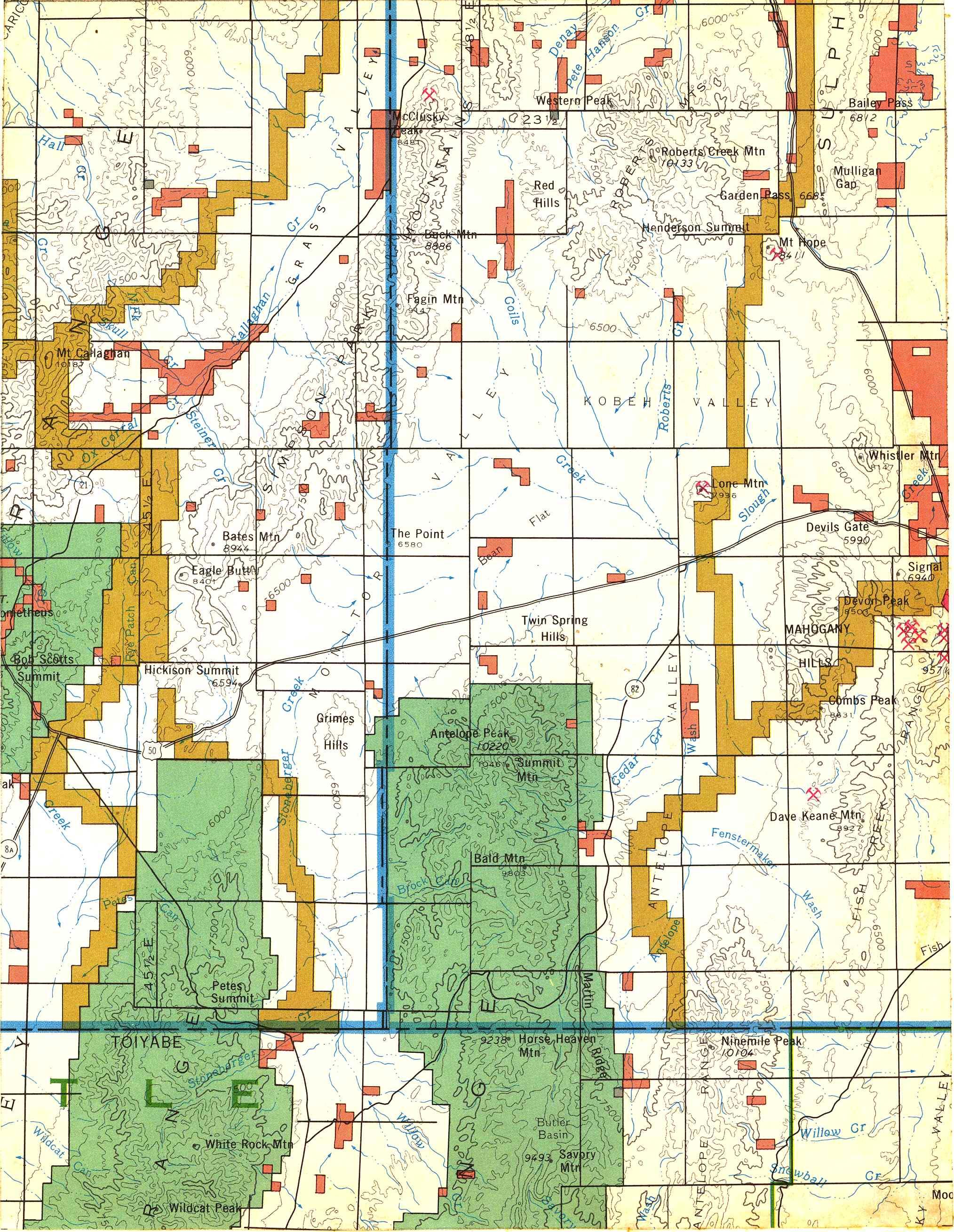 Map [2] 39:116 - Garden Pass - 1972