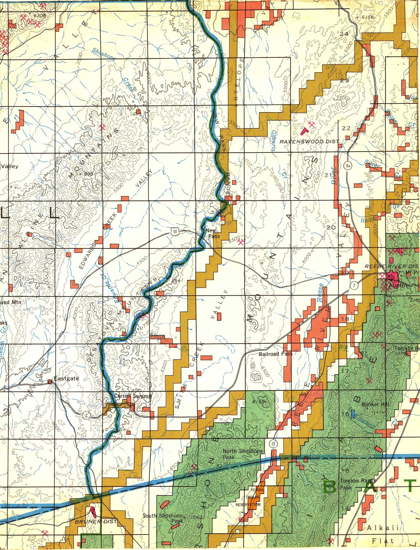 Map [2] 39:117 - Austin - 1972