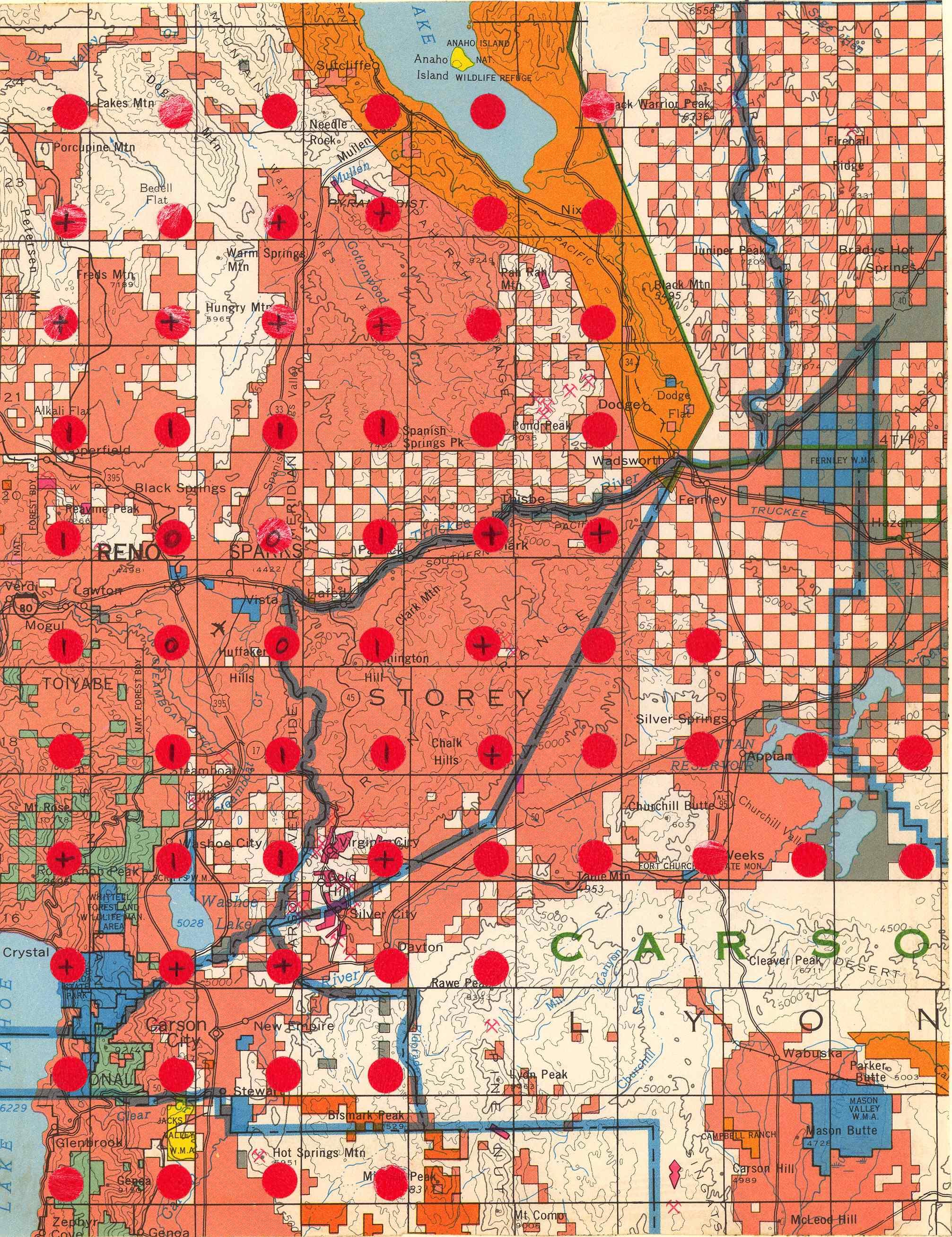 Map [2] 39:119 - Reno - 1972