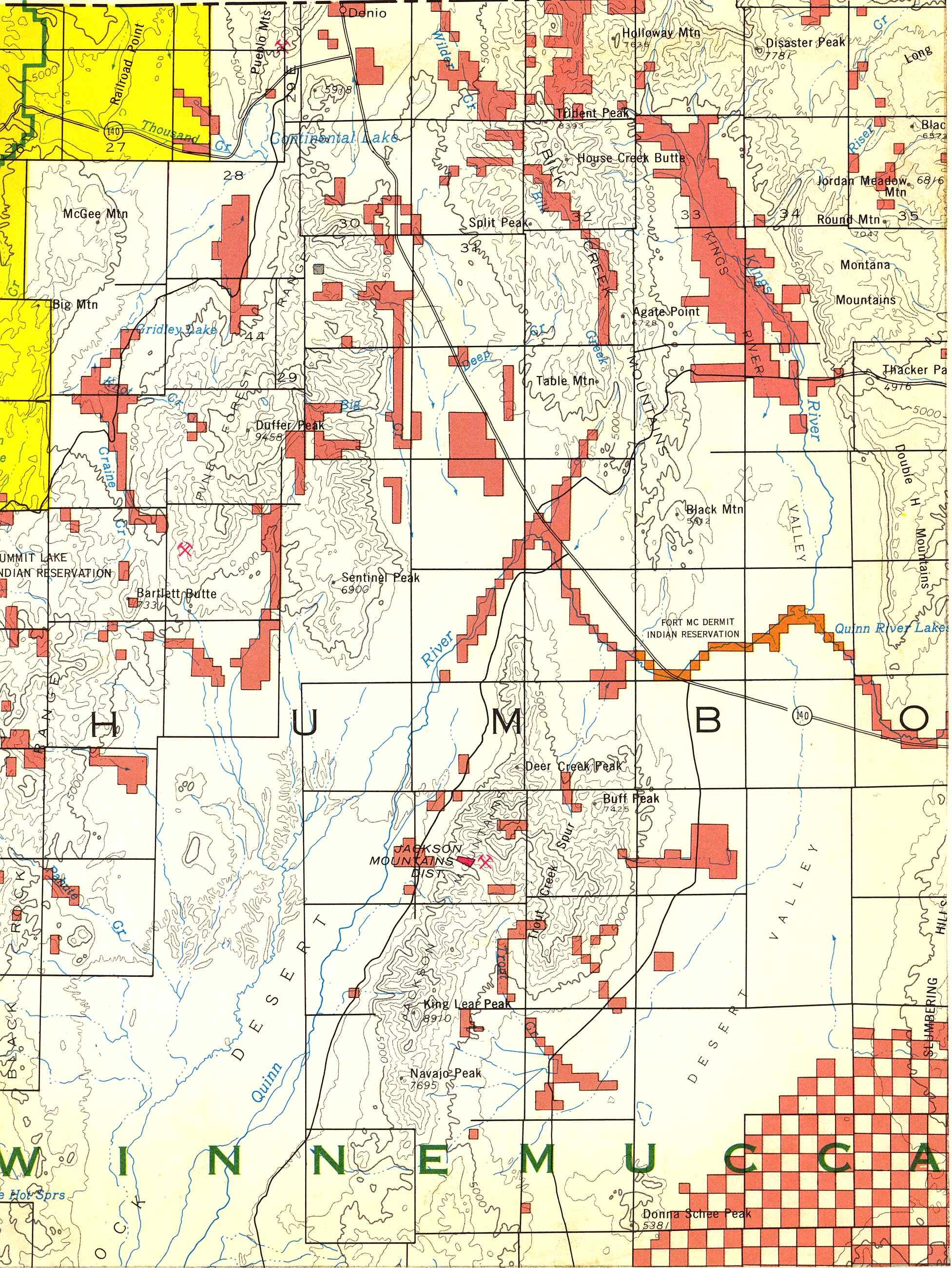 Map [2] 41:118 - Denio - 1972