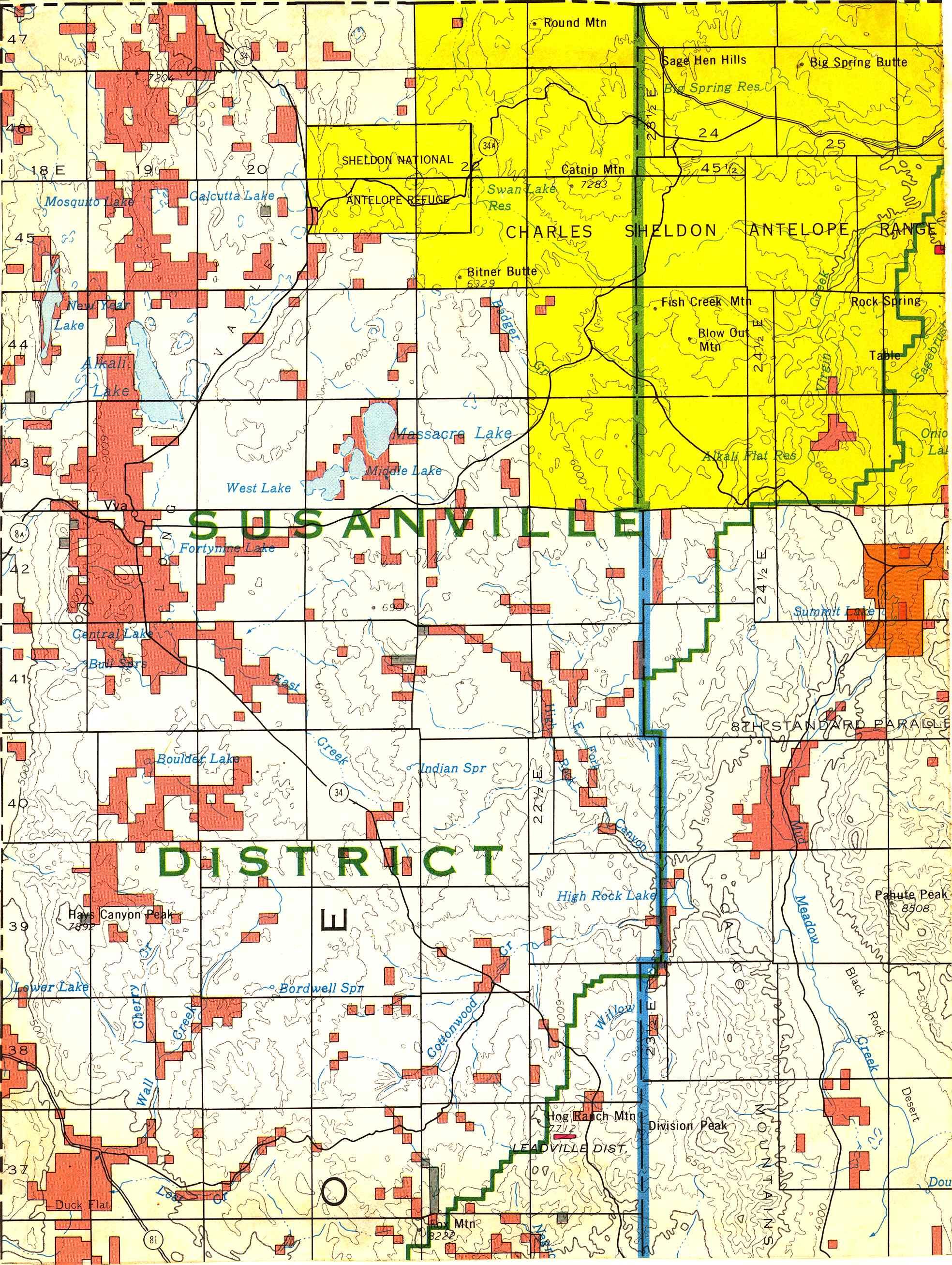 Map [2] 41:119 - Vya - 1972