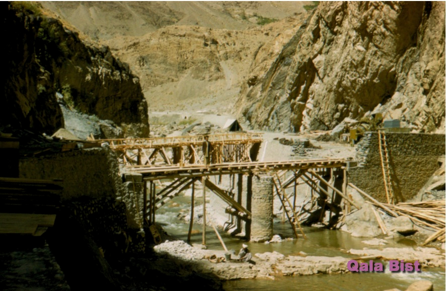 Second Bridge down the Kabul River Gorge - 1958