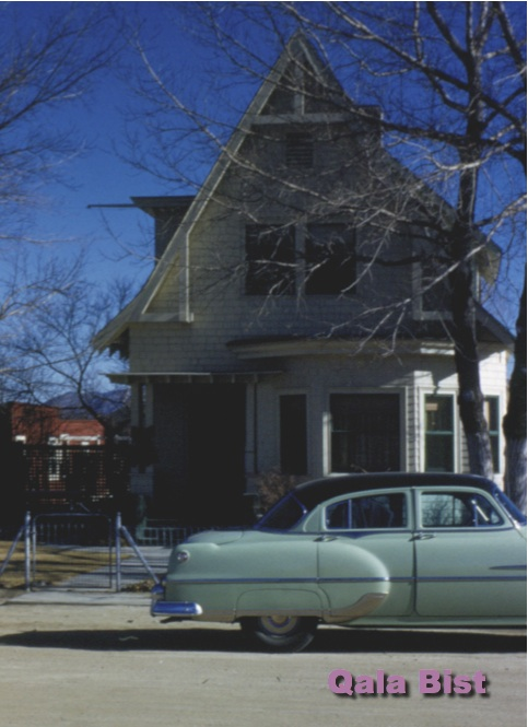 405 North Roop Street (old numbering) in Carson City, Nevada circa 1954 - The Clayton house.