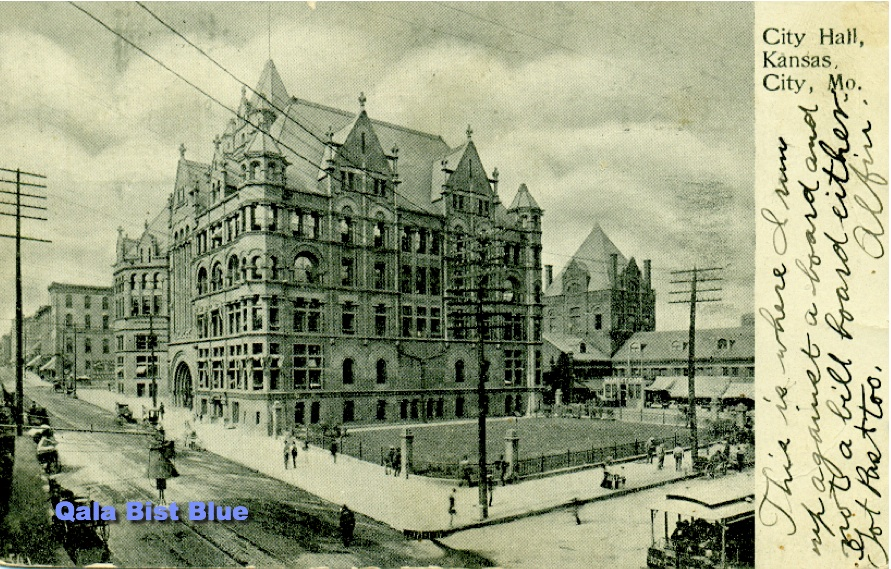 City Hall - Kansas City, Missouri - 1906