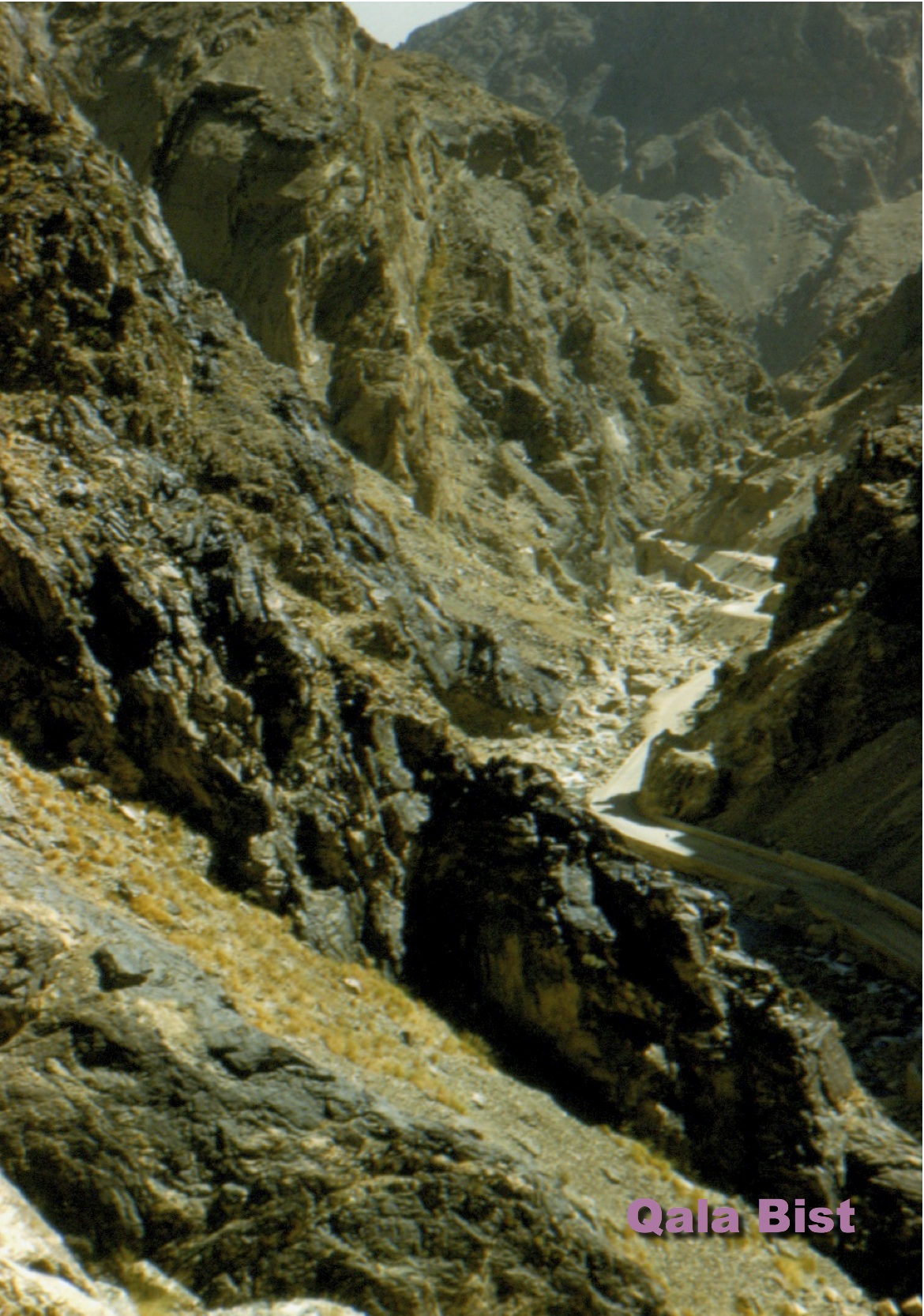 New Kabul Gorge road alignment
