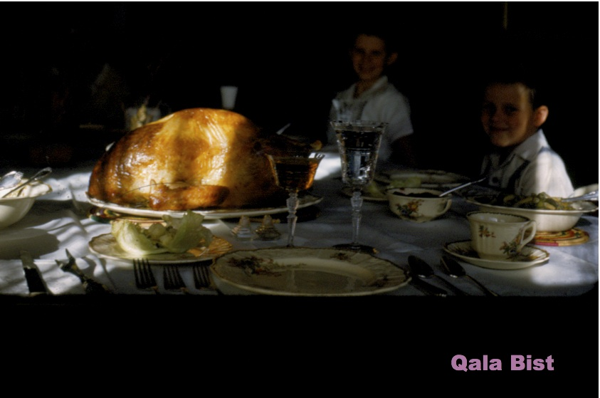 Turkey dinner in Carson City, Nevada - November 1953